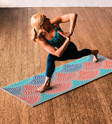 Review of Gaiam Print Premium Yoga Mats
