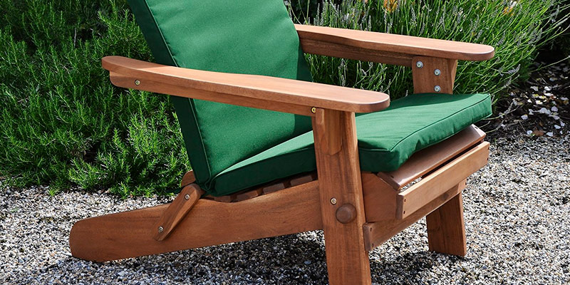 Review of Plant Theatre Adirondack Chair Folding, Acacia Hardwood