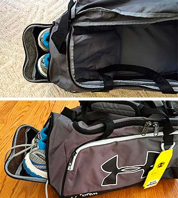 eee19b1b9d Review of Under Armour Storm Undeniable II Duffle Bag