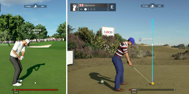2K PGA Tour 2K21 for PlayStation 4 in the use