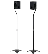 WALI SS201 Speakers Stands for Satellite Speakers