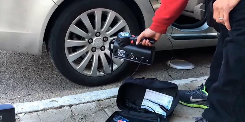 Review of Kensun YS-205 Portable Air Compressor Tire Inflator