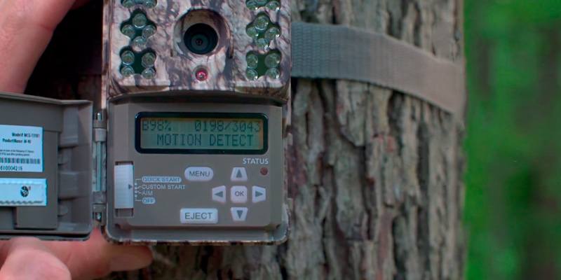 Moultrie A-40 Game Camera in the use
