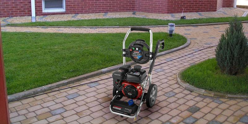 Powerstroke PS80533 Gas Pressure Washer in the use