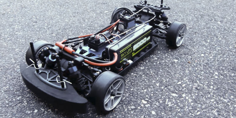 Exceed RC Electric DriftStar RTR in the use