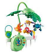 Fisher-Price Rainforest Peek-A-Boo Leaves Baby Musical Mobile