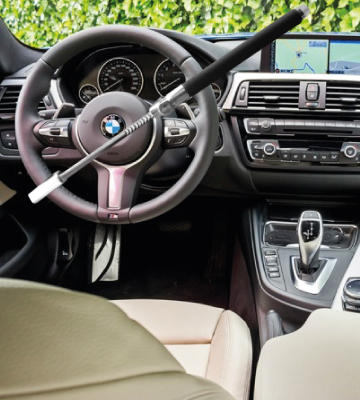 Review of Tevlaphee Steering Wheel Lock For Cars