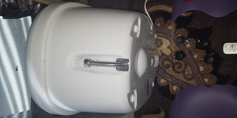 Detailed review of Kendal FBD1023 All in one foot spa bath massager