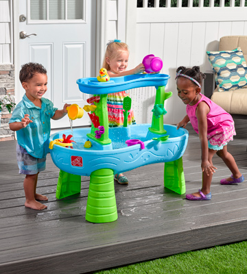 Review of Step2 874699 Rain Showers Splash Pond Water Table