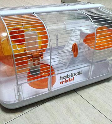 Review of Habitrail Cristal 62820A1 Hamster Habitat