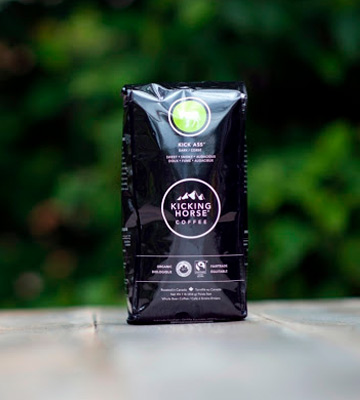 Review of Kicking Horse Coffee Kick Ass Dark Roast, Whole Bean