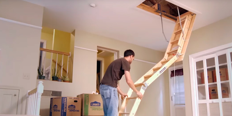 Review of Louisville S254P Wooden Attic Ladder