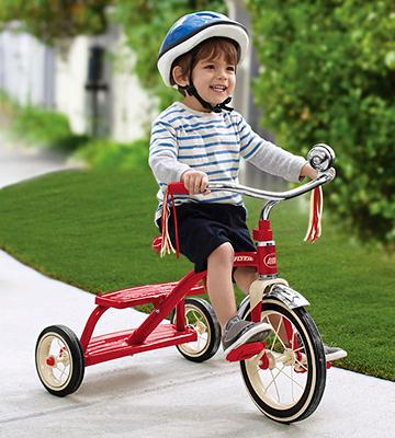 Review of Radio Flyer Classic Red Dual Deck Tricycle