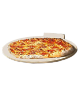 Love This Kitchen LTK-PIZZA-R16 Round Pizza/Bread Stone for Cooking & Baking