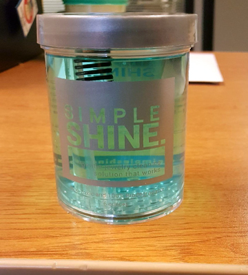 Review of Simple Shine Gold, Silver, Fine & Fashion Jewelry Cleaner Solution
