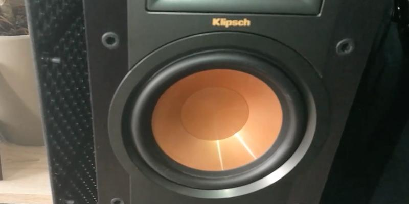 Klipsch R-26F Floorstanding Speaker in the use
