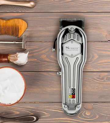 Review of SURKER Cordless Mens Hair Clippers
