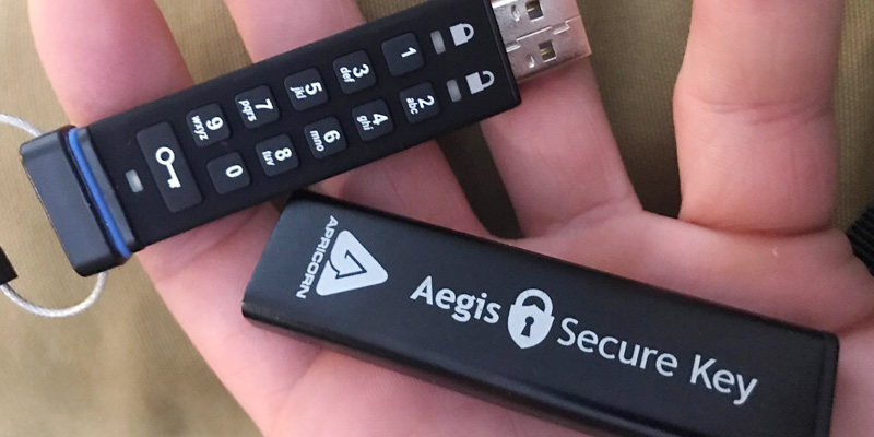 Review of Apricorn Aegis Secure Key Encrypted Flash Drive