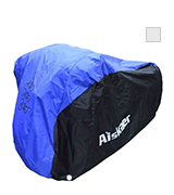 Aiskaer 2:210D OXFORD Waterproof 3 Bikes Bicycle Cover Outdoor Rain Protector