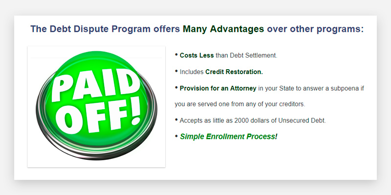 Detailed review of American Debt Enders Debt Consolidation Service