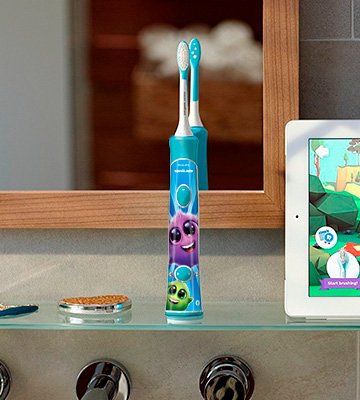Review of Philips Sonicare (HX6321/02) Bluetooth Rechargeable Electric Toothbrush for Kids