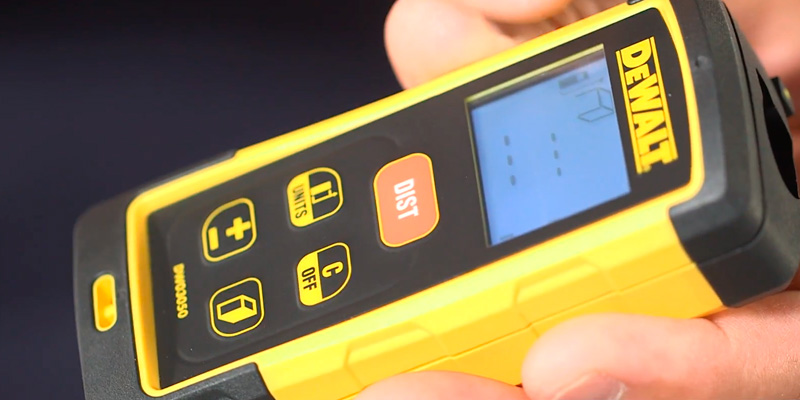 Detailed review of DEWALT DW03050 Laser Distance Measurer