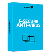 F-Secure Anti-Virus Virus and malware protection for PC