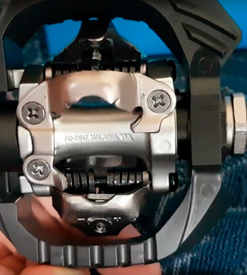 Review of Shimano PD-M647 Clipless Pedal with Outer Cage