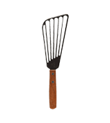 Winco FST-6 Stainless Steel Fish Spatula