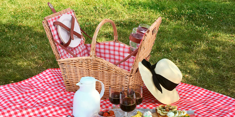 Review of Picnic Time Piccadilly Willow Picnic Basket for Two People