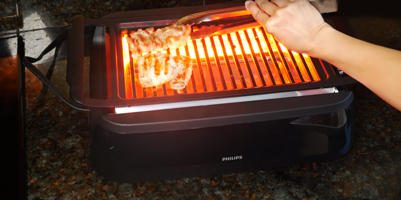 Review of Philips HD6371/94 Smoke-less Indoor Grill