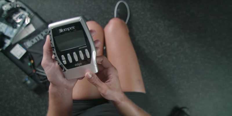 Review of Compex Edge Electronic Muscle Stimulator Kit