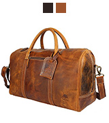 RusticTown DFR20ADN Carry On Travel Duffle Bag