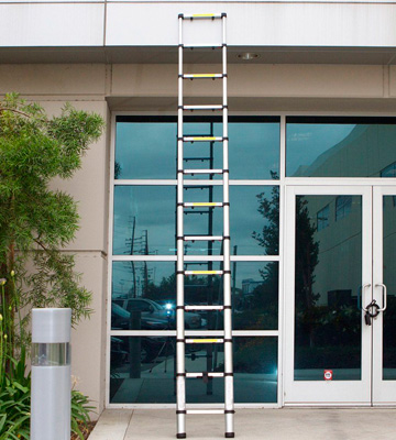 Review of Luisladders Oshion Aluminum Telescoping Telescopic Extension Ladder
