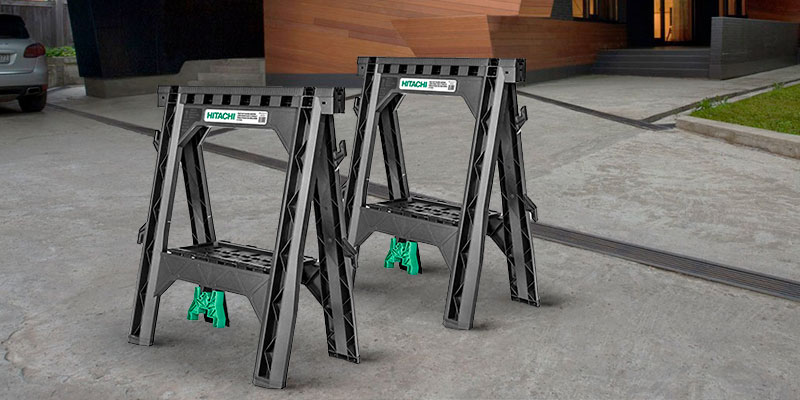 Review of Hitachi 115445 Folding Sawhorses