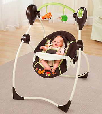 Review of Summer Infant 23183 Sweet Sleep Musical Swing Fox