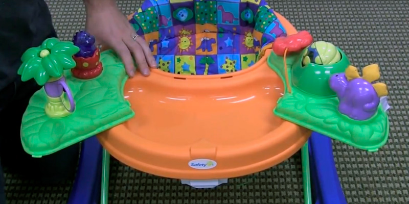 Review of Safety 1st Dino Sounds 'n Lights Discovery Baby Walker with Activity Tray
