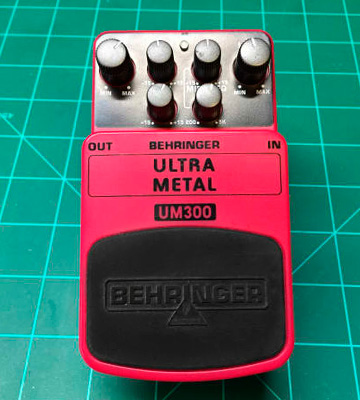 Review of Behringer Heavy Metal Distortion Effects Pedal