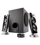 Cyber Acoustics CA-3602 Speaker Sound System with Subwoofer and Control Pod