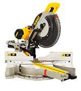 DEWALT DWS780 12'' Double Bevel Sliding Compound Miter Saw