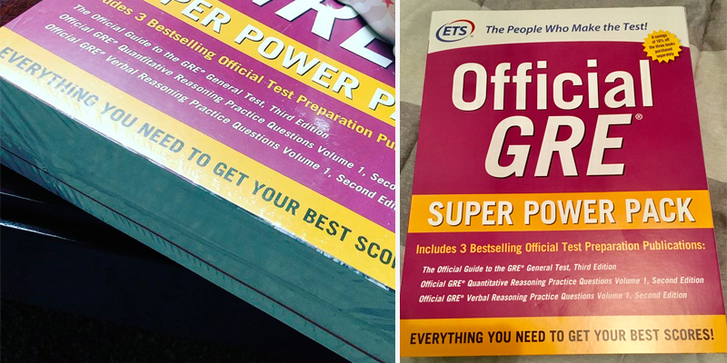 Educational Testing Service Official GRE Super Power Pack in the use