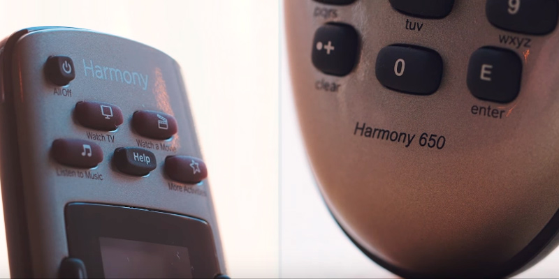 Review of Logitech Harmony 650 Infrared All in One Remote Control