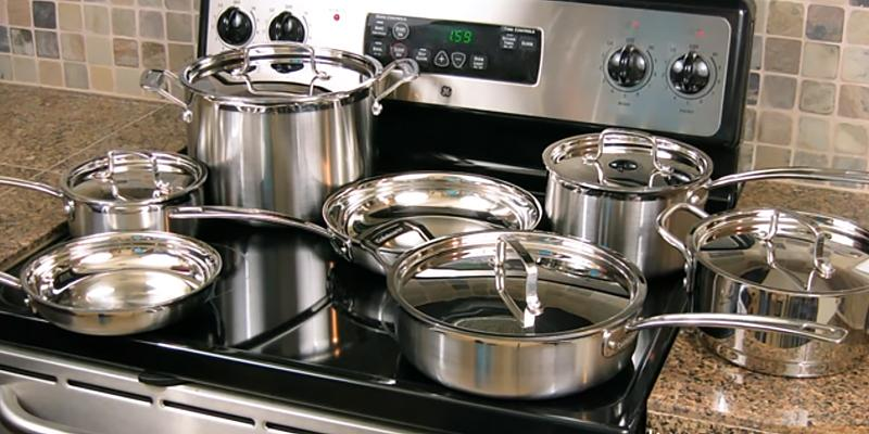 Review of Cuisinart MCP-12N Multiclad Pro Stainless Steel 12-Piece Cookware Set