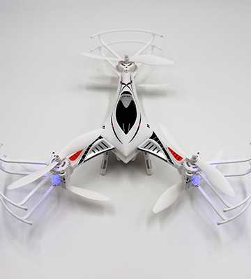 Review of DK CX-33S RC Tricopter