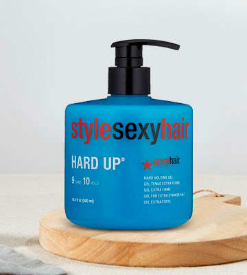 Review of SEXYHAIR Hard Up Hard Holding Gel