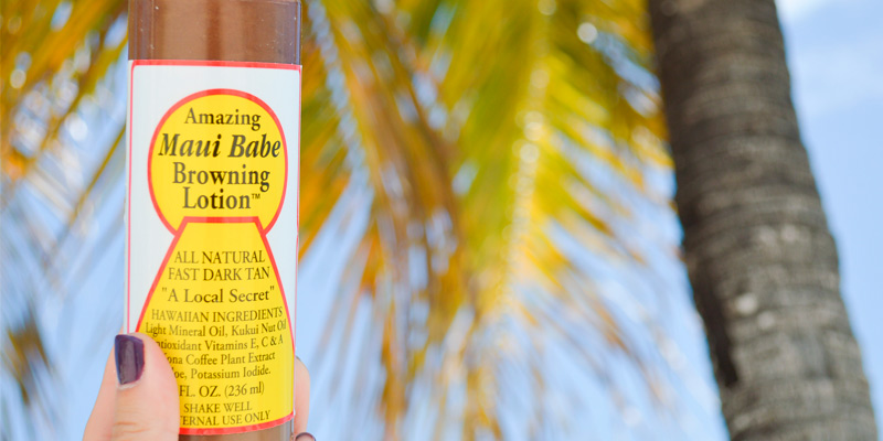 Review of Maui Babe Natural Tanning Oil Browning Lotion