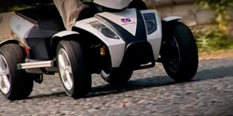 EV Rider RiderXpress Great stability and maneuverability in the use