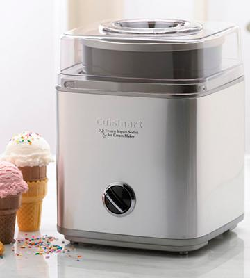 Review of Cuisinart ICE-30BC Frozen Yogurt, Sorbet & Ice Cream Maker