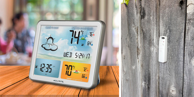 Review of AcuRite 75077A3M Wireless Weather Station with Large Display