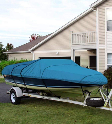 Review of Leader Accessories Fit V-hull Tri-hull Fishing Ski Pro-style Waterproof Boat Cover